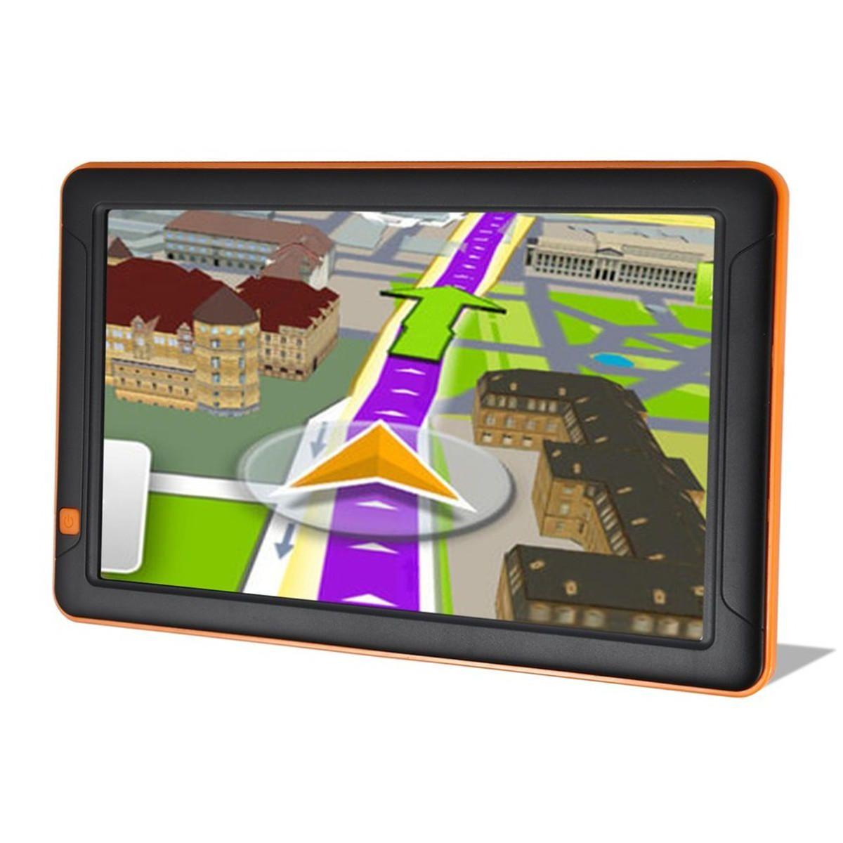 9'' TFT LCD Display 256MB+8G Europe/North America/Australia Map Car GPS Navigation HD Touch Screen #touchscreendisplay