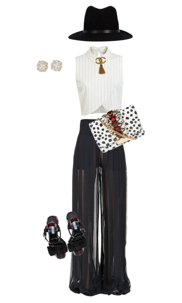 """Kourtney"" by jmedinax on Polyvore featuring Miss Selfridge, Balmain, Chanel, ALDO, rag & bone and GEDEBE"