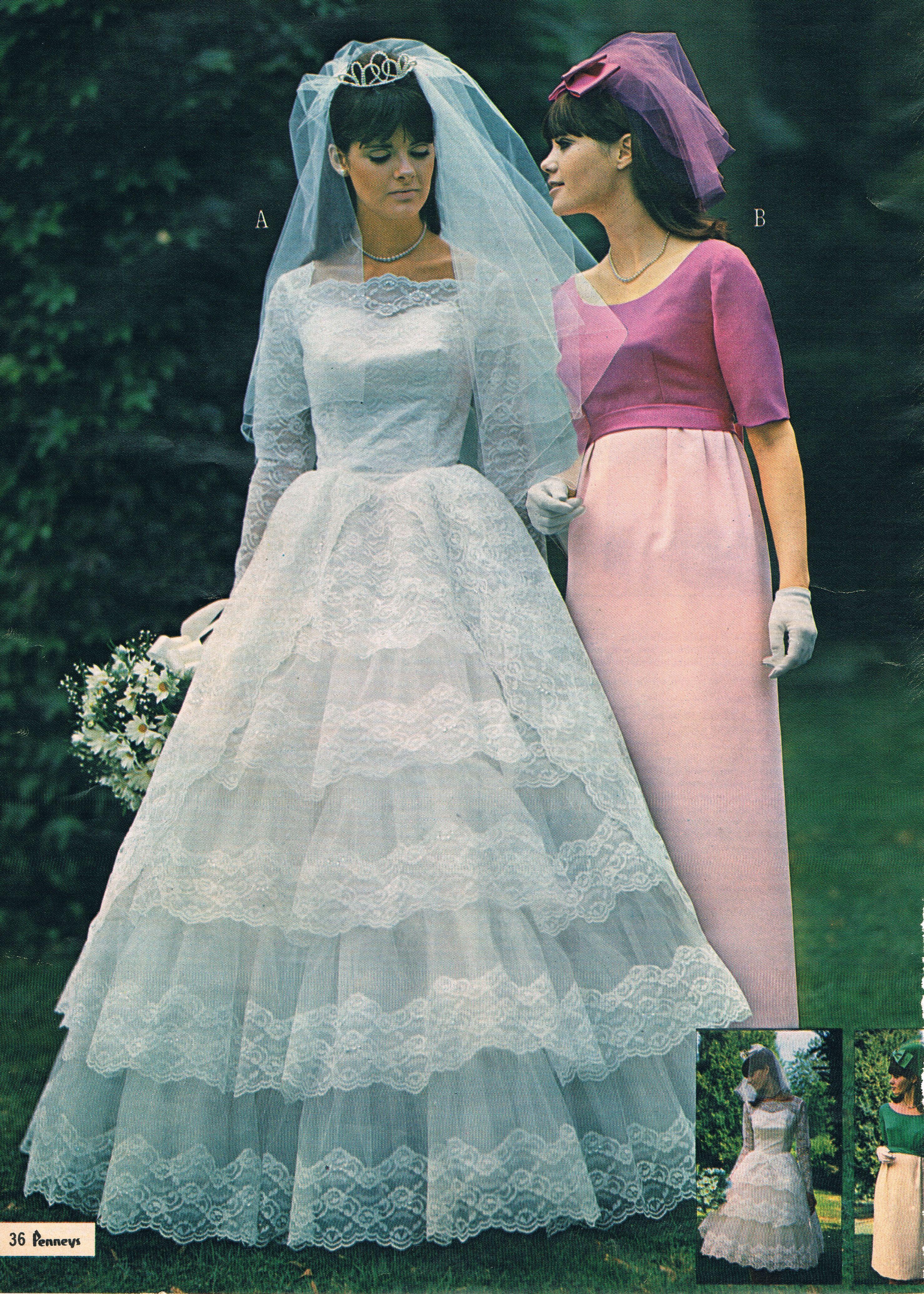 Penneys catalog 60s | Novias | Pinterest | Vestidos de novia ...