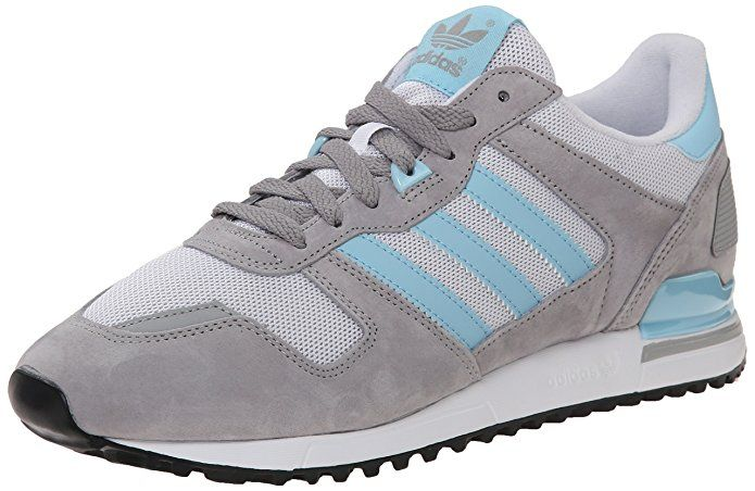 Adidas Originals Men S Zx 700 Lifestyle Running Sneaker Solid Grey Blush Blue White 8 M Us Sneakers Adidas Zx 700 Adidas Originals