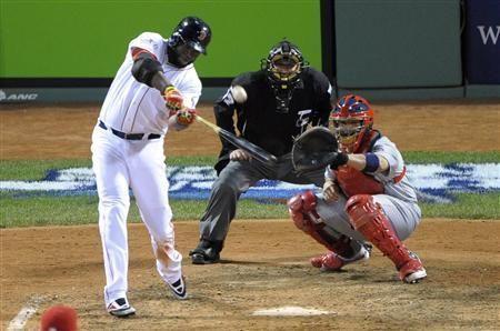 World Series 2013 Red Sox Take Advantage Of Cardinals Mistakes Baseball Scores Baseball Camp Baseball