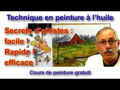 La Peinture De Paysage Secrets D Artistes Youtube Art Art Painting Paintings Famous