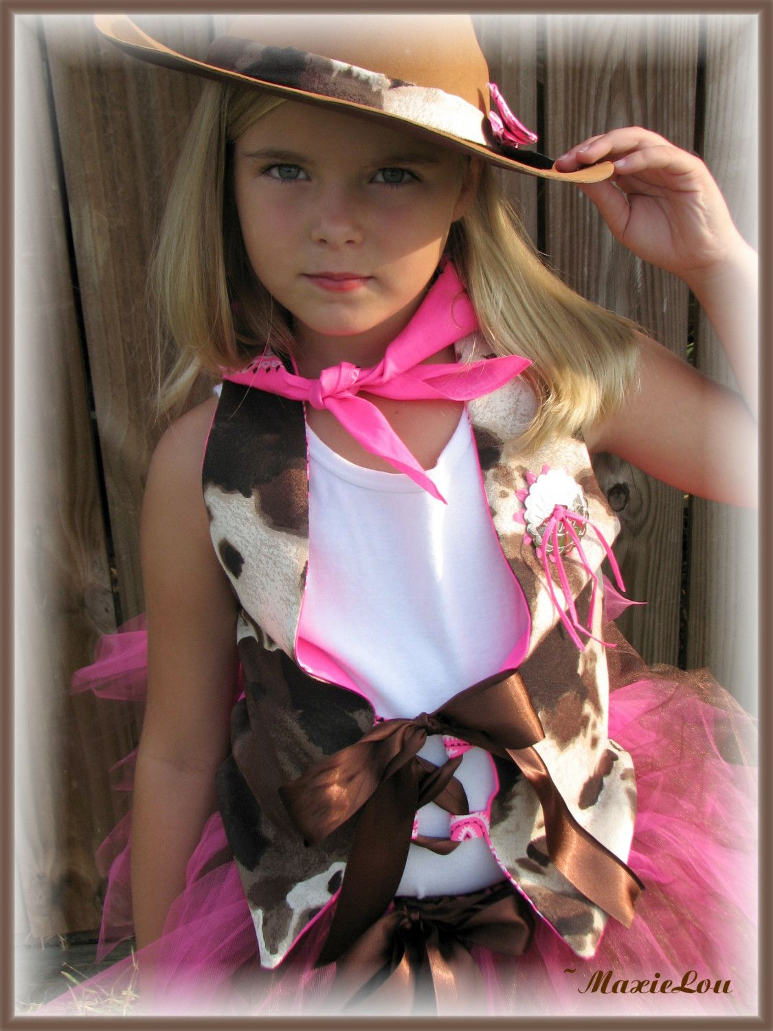 Boutique Tutu COWGIRL CUTIE Halloween Birthday Costume Hannah Montana Ho-down Throw-down  sc 1 st  Pinterest & Boutique Tutu COWGIRL CUTIE Halloween Birthday Costume Hannah ...