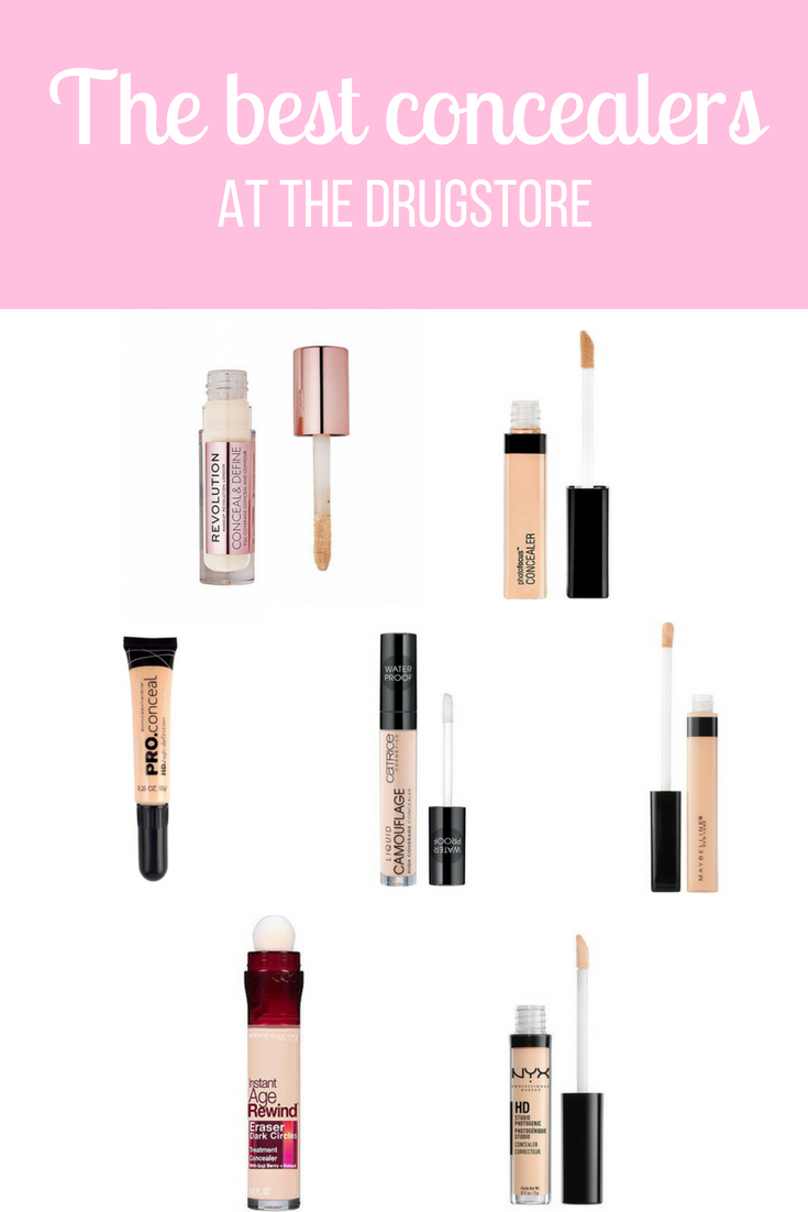 Great concealers at the drugstore ConcealerTutorial