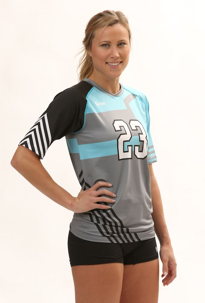 Odyssey Womens Half Sleeve Sublimated Jersey Jersey Design Ladies Golf Volleyball Jersey Design