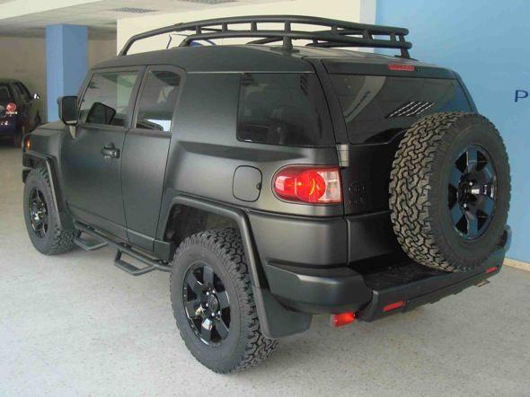 Blacked Out Toyota Fj Cruiser Fj Cruiser Cruisers