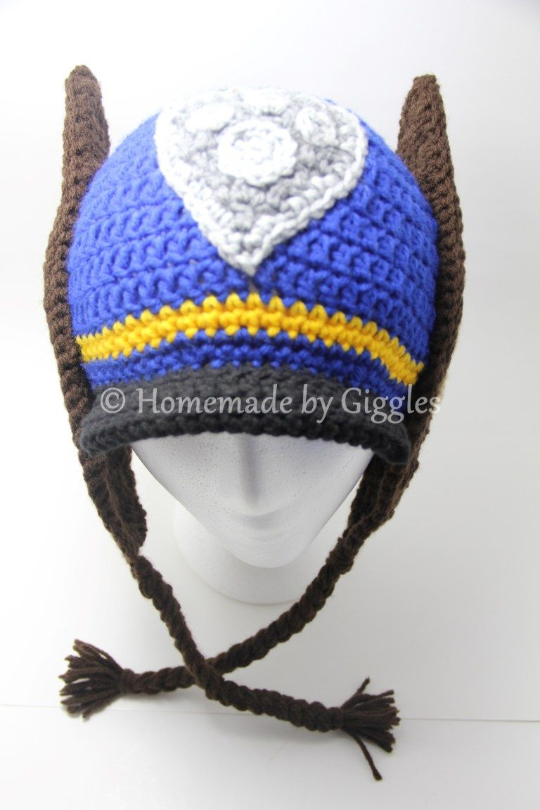 Chase Hat Inspired by Paw Patrol – Homemade by Giggles  1a68eb6d6549