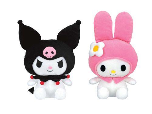 Onegai My Melody & Kuromi   Plush dolls, My melody, Hello ...