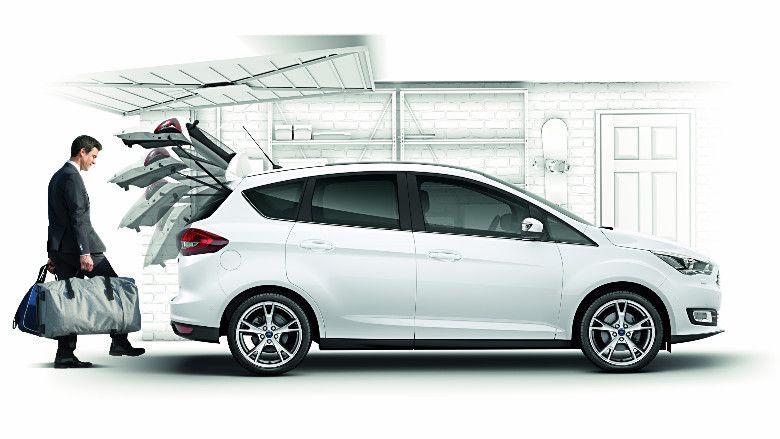 Nuova Ford C Max Apertura E Chiusura Del Bagagliaio Senza Mani