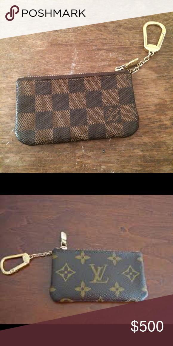 4d39f36015e LV Coin Pouches Coin pouches Louis Vuitton Accessories Key   Card Holders