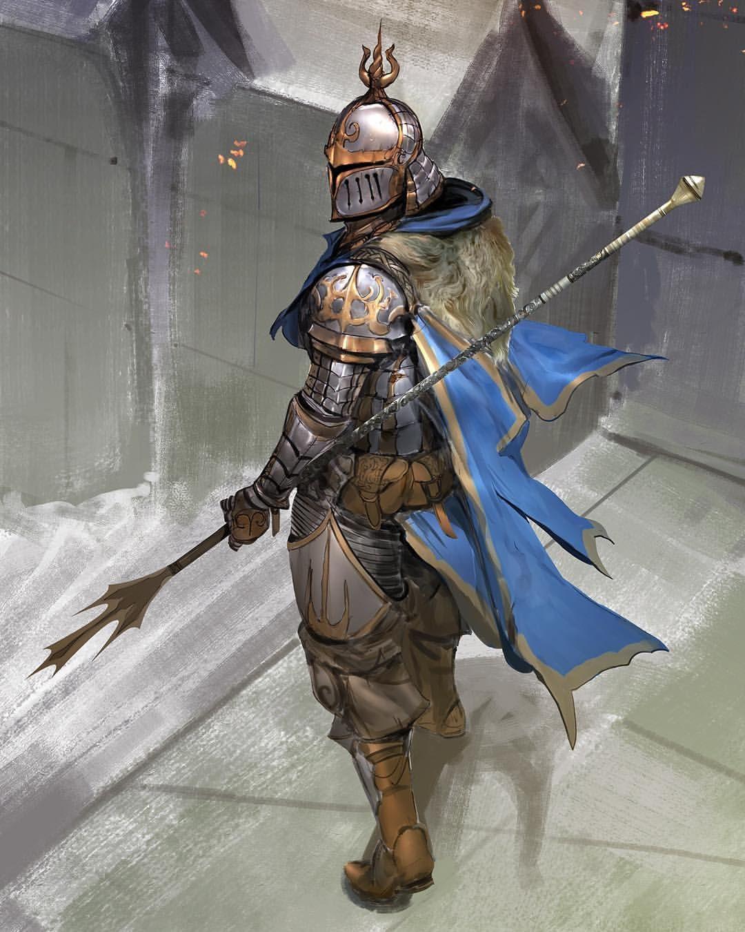 Fantasy Art Light Knight
