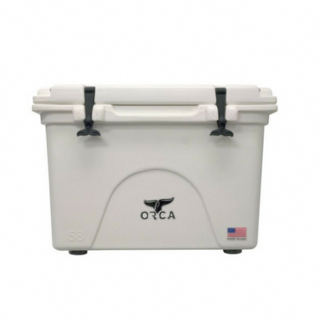 Orca Hard Sided 58 Quart Classic Cooler White Orca Cooler Orca Camping Coolers