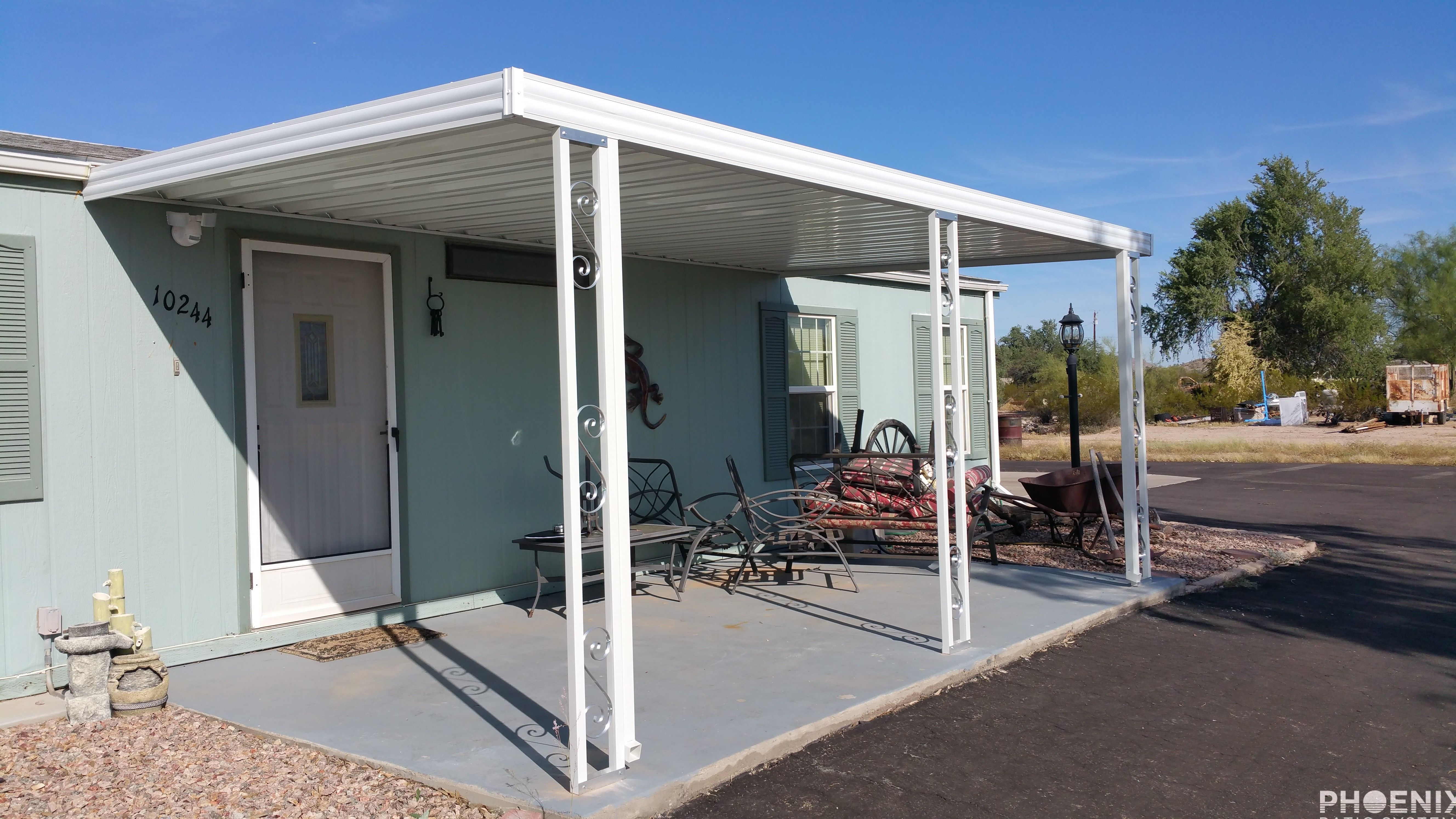 Aluminum Patio Cover (With images) Aluminum awnings