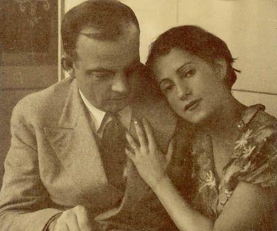 Antoine de Exupéry and his wife Consuelo comtesse de Saint