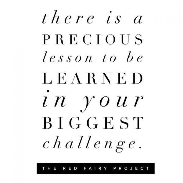 What is the lesson to be learned? | The Red Fairy Project