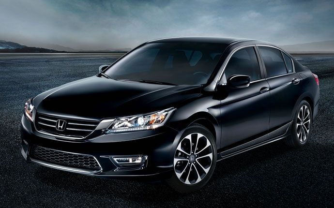 2017 2015 Honda Accord Black Wallpaper Honda Accord Mobil Baru Sedan