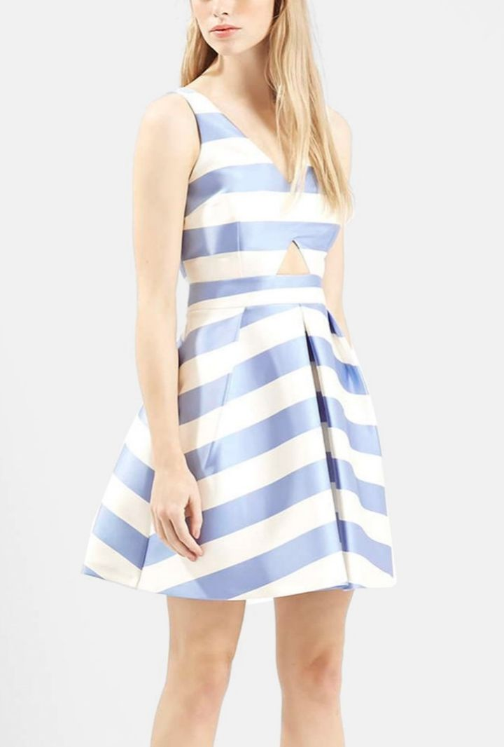 This sweet and flirty Topshop number is the perfect daytime date dress.