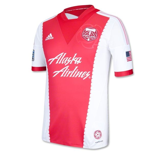 size 40 0cd27 70ad3 Portland Timbers 2013 Authentic Secondary Soccer Jersey ...