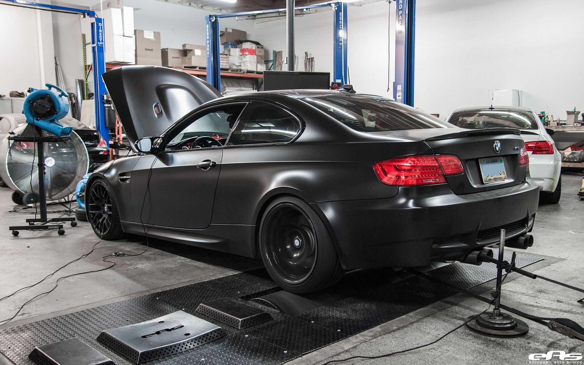 Matte Black Bmw E92 M3 Supercharged Project By European Auto