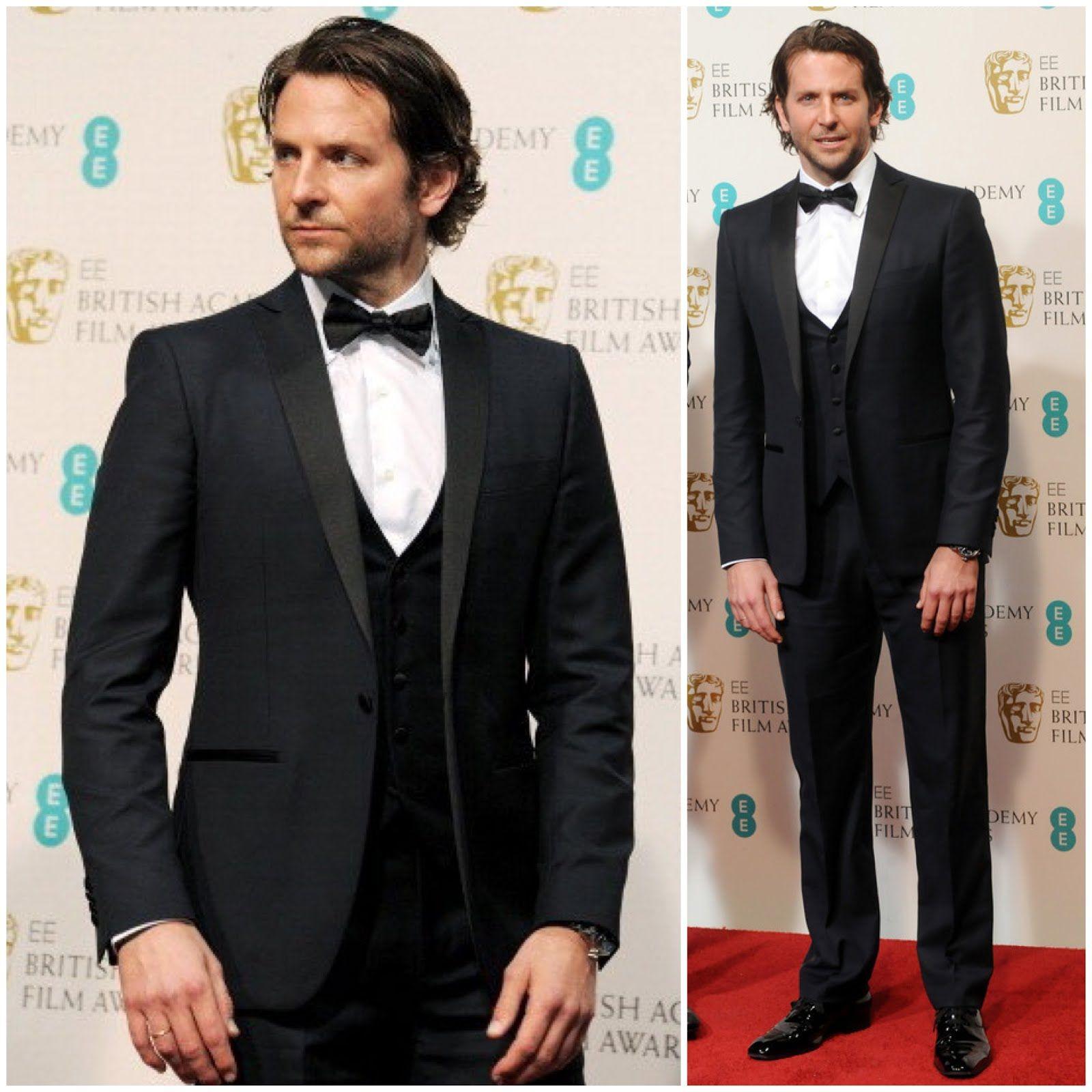 bf429ac5916fb What s he wearing   Bradley Cooper in Salvatore Ferragamo - 66th ...