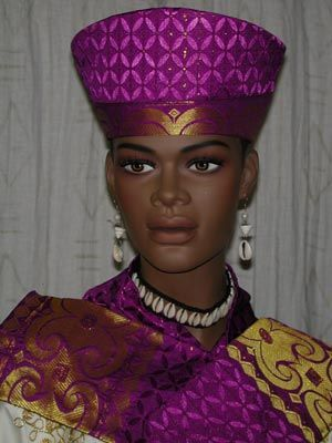 0b095afe789 African inspired open crown hat