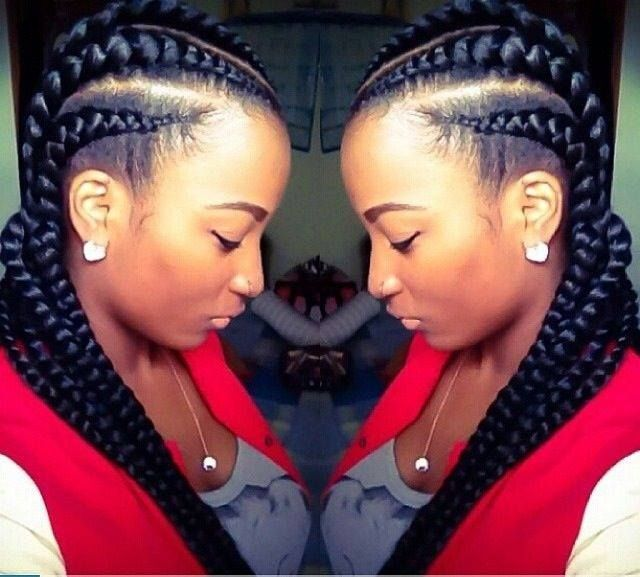 Hair Style Thick Cornrows HairstylesBlack