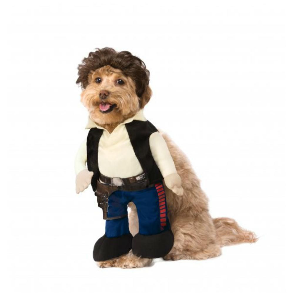 Star Wars Walking Han Solo Dog Costume By Rubies Pet Costumes