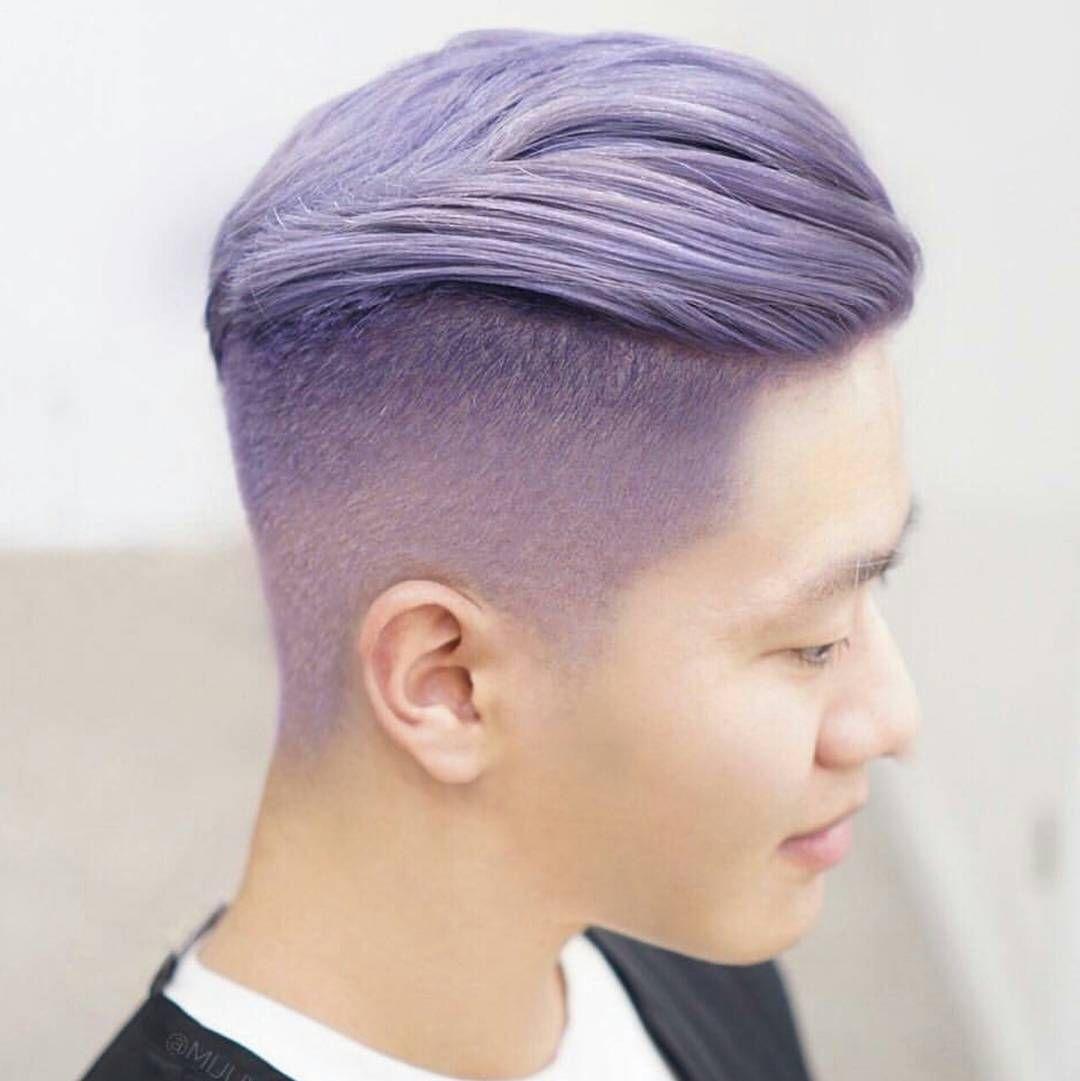 pastel purple male edition