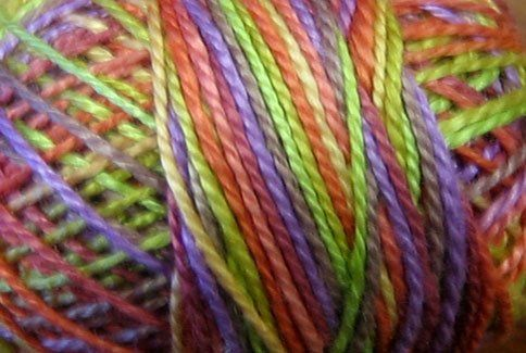 Chimney Sparks Floss - Valdani,Pearl Cotton Size 12 Balls $5.20