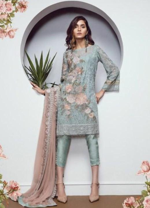 ec070f8d03 Baroque - Chiffon - 02 | Kaam | Fashion, Indian dresses, Pakistani ...