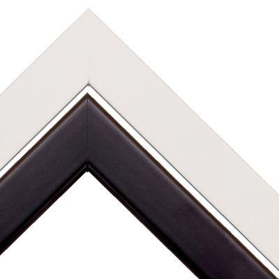 13x13 Black & White Satin Picture Frame Several diff. sizes | Frames ...