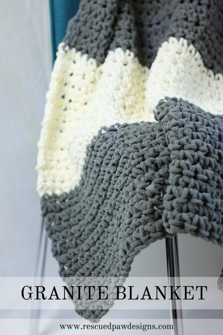 Granite Crochet Throw Blanket Pattern Patterns Crochet