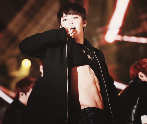 Jimin of BANGTAN. Known for his cute face. Right?