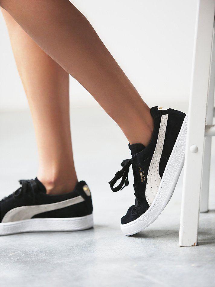 Trendy Women's Sneakers : Free People Suede Classic Sneaker... - Fashion  Inspire | Fashion inspiration Magazine, beauty ideaas, luxury, trends and  more