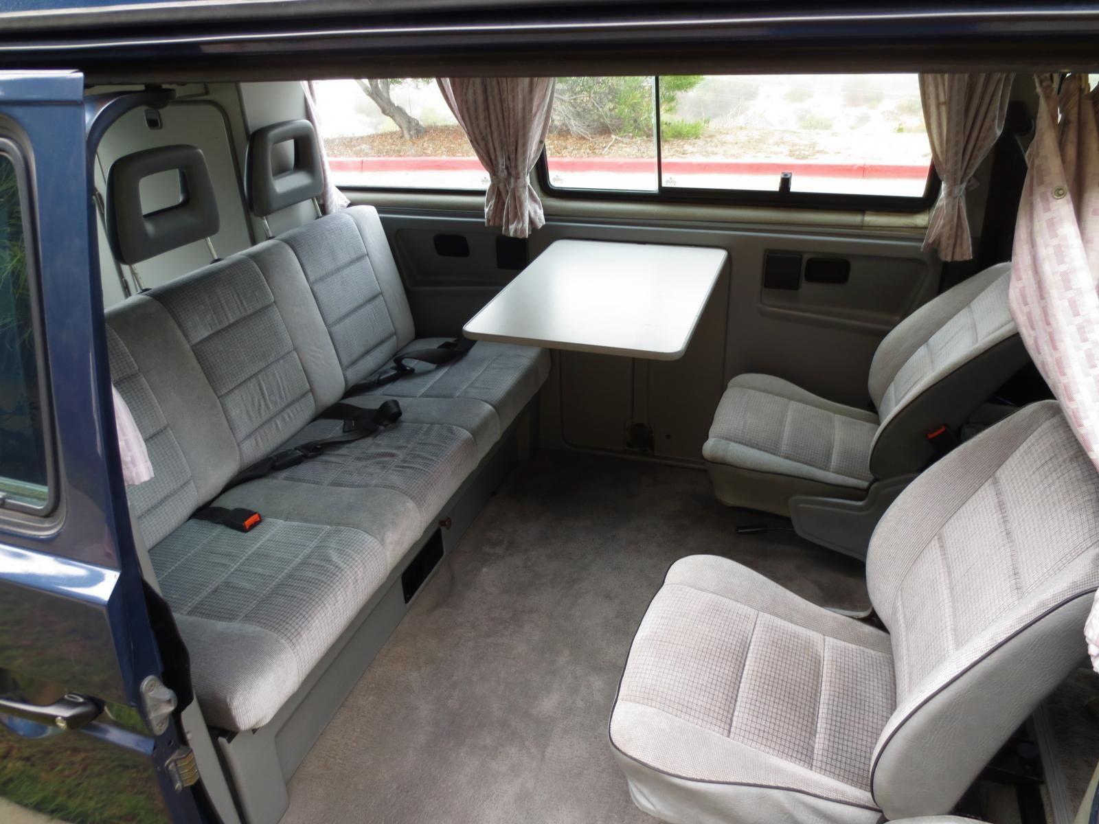 Carat multivan late model weekender interior vanagon