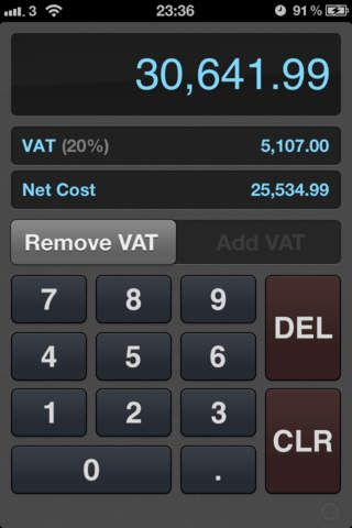 Callum Mcleod Finance iPhone UK VAT Calculator 0.00