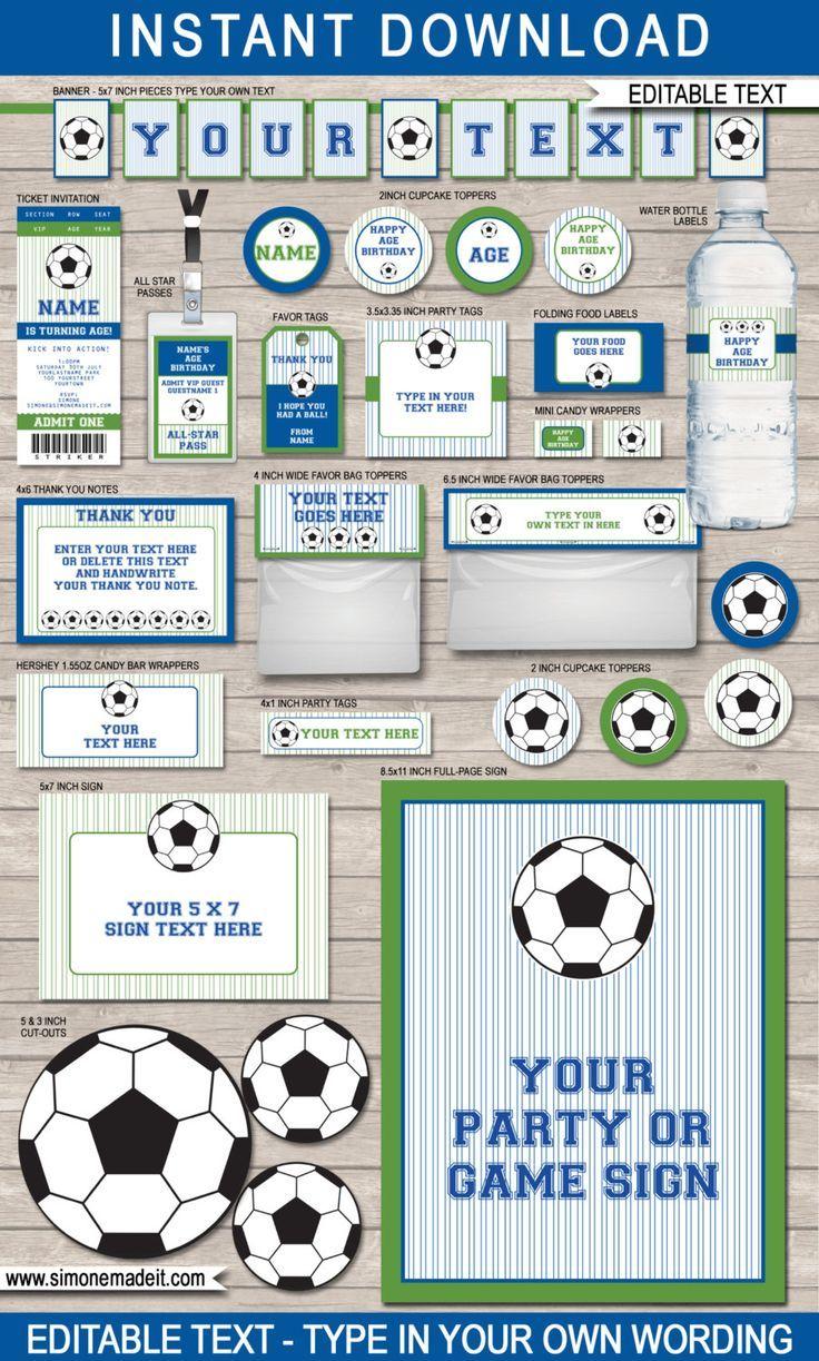 Ein paar perfekte Vorlagen zum Thema Fussball für Deinen ...