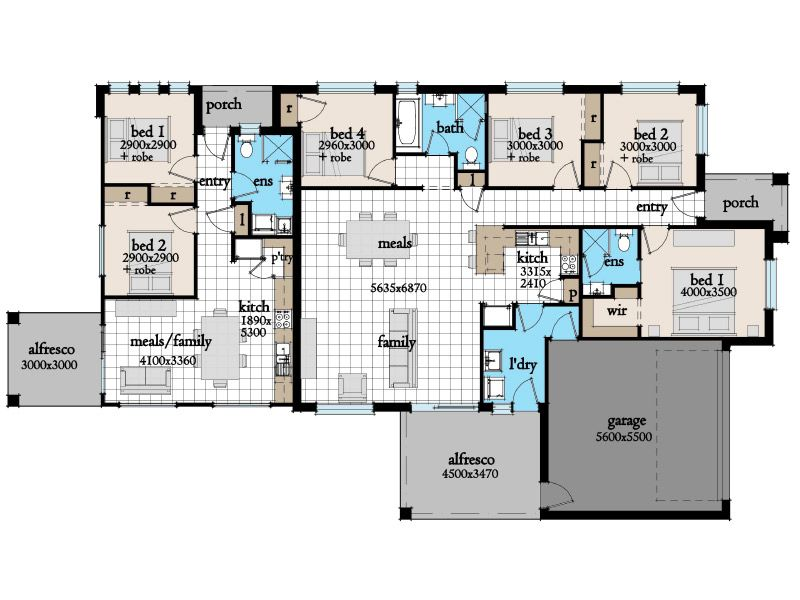 Harmony 28 House Granny Flat Designs Residential Architecture Plan Granny Flat 6 Bedroom House Plans
