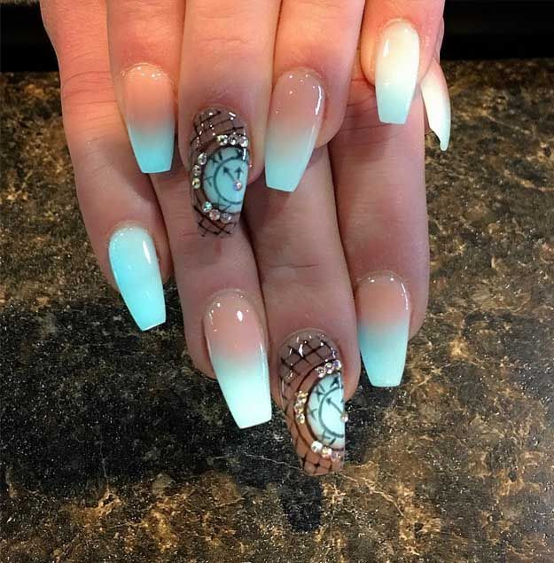 Glow In The Dark Nails Stunning New Years Day Nail Designs Uas