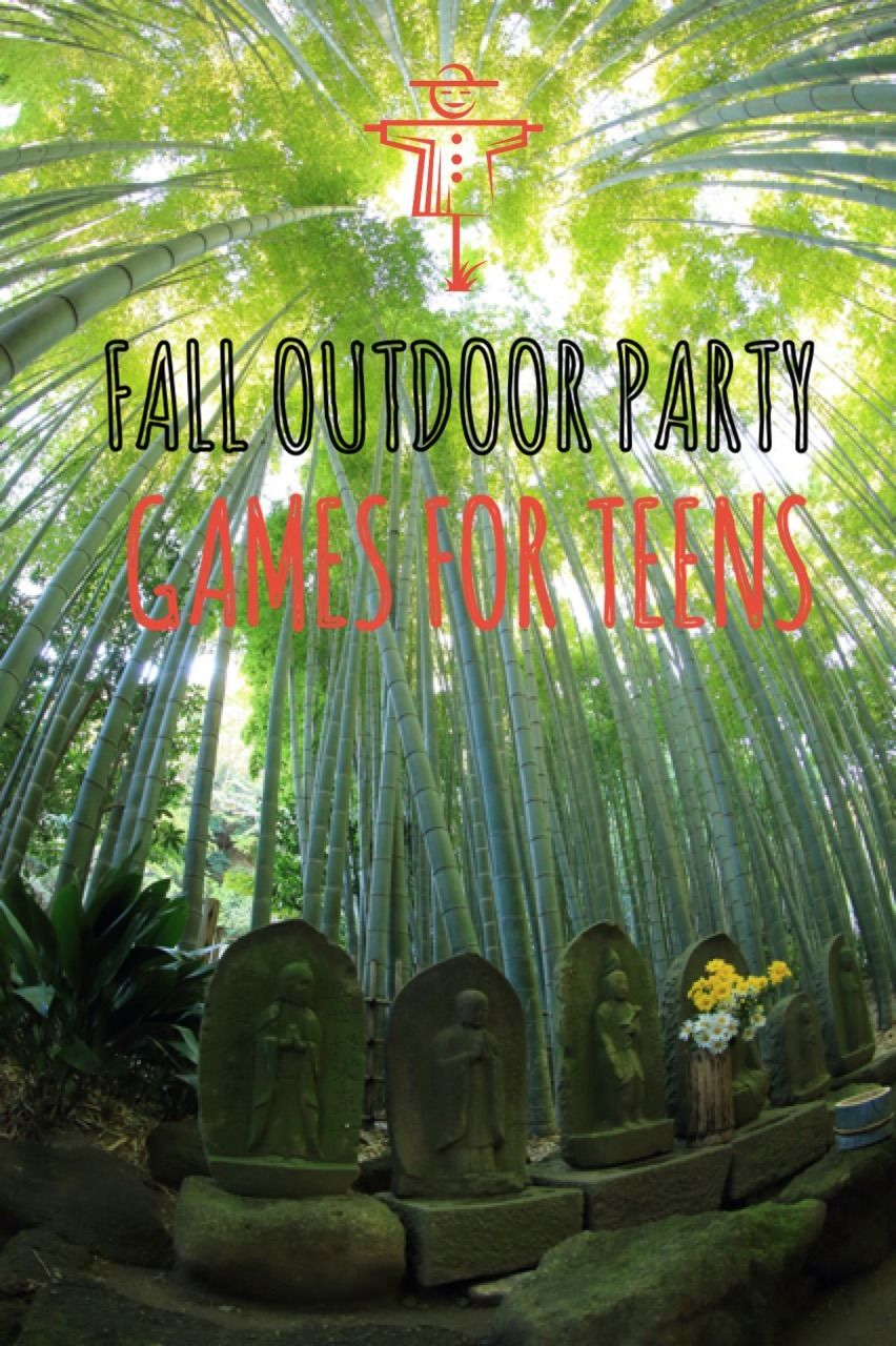 Fall Outdoor Party Games For Teens | Discover more ideas about ...