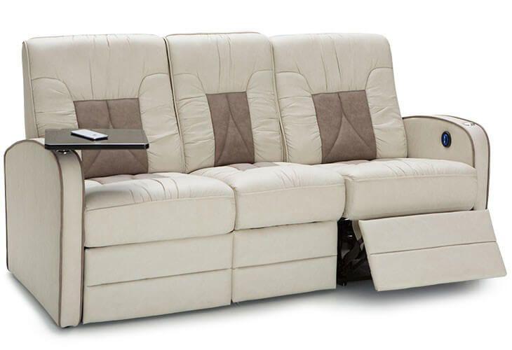 Qualitex De Leon Rv Double Recliner Sofa Reclining Sofa Sofa