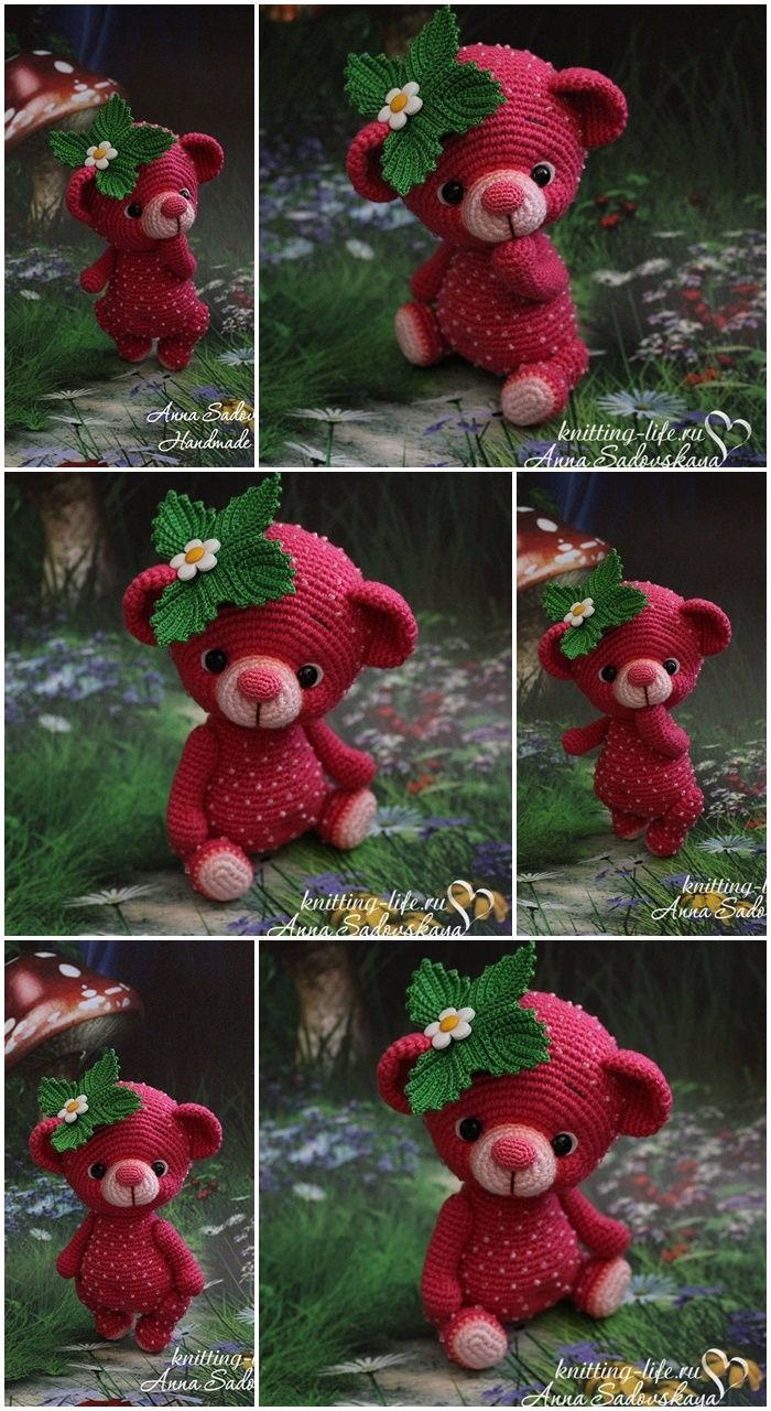 Amigurumi Crochet Teddy Bear Patterns - Amigurumi #teddybear