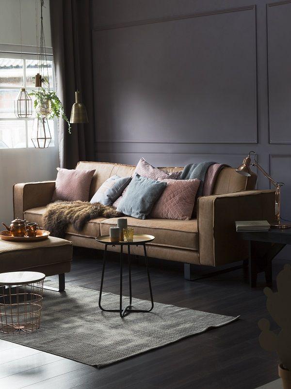 Creëer luxe met warme grijstinten | mijn woonkamer | Pinterest ...