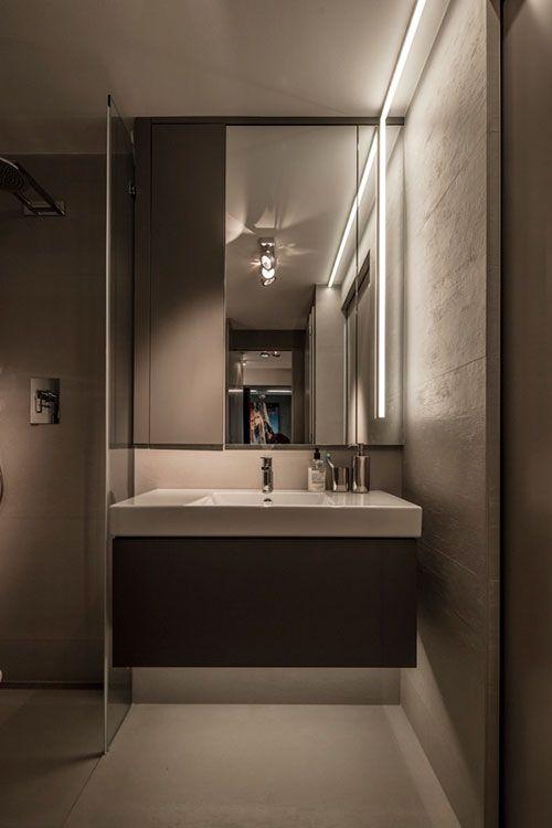 Wasmachine en droger in kleine badkamer | Bathroom | Pinterest ...