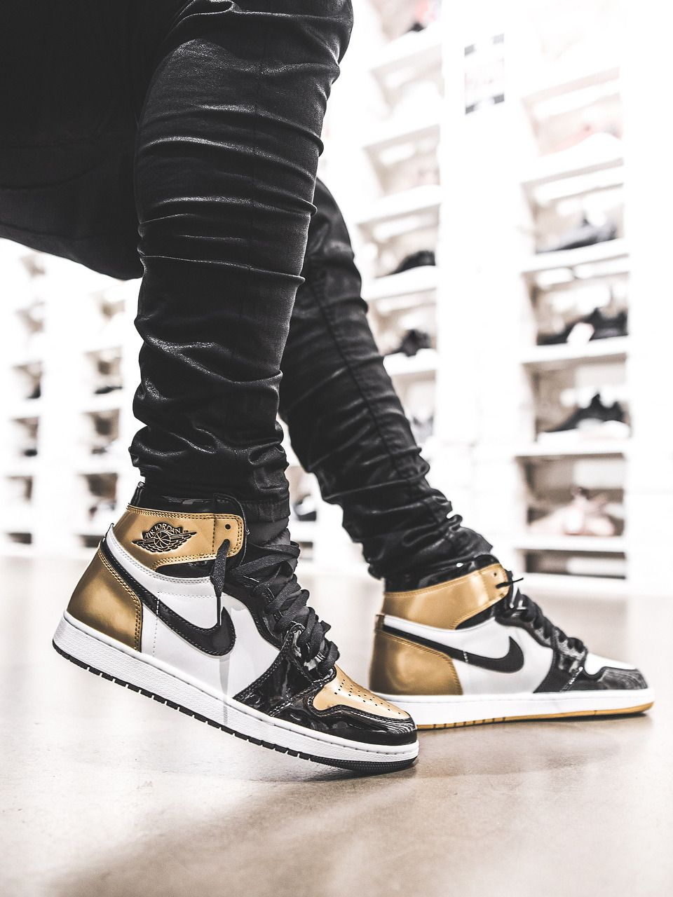 ff73afcf72c2 Nike Air Jordan 1 Retro High OG Gold Top 3 - 2017 (by vivianfrank ...
