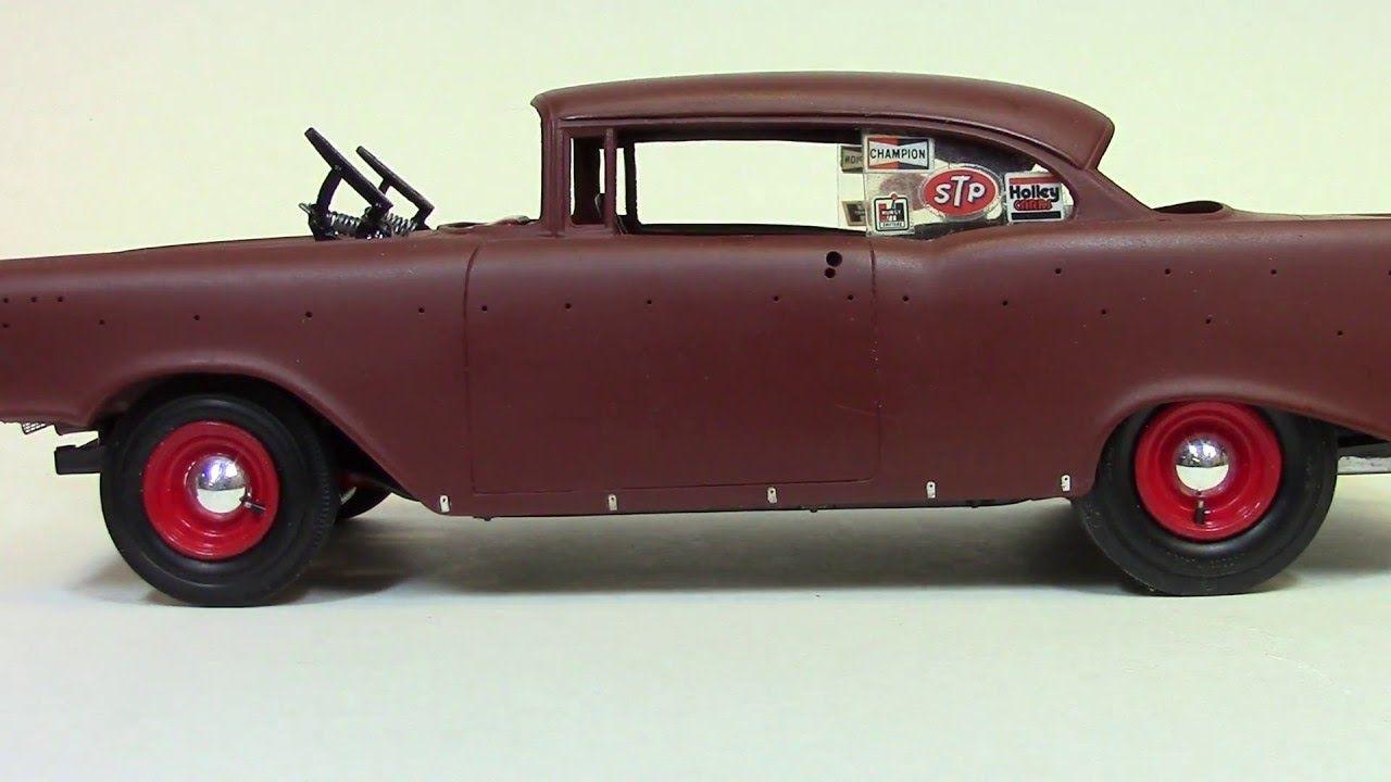 Billy Vega's Scale Model Garage : 1957 Chevy Primer /Unfinished ...