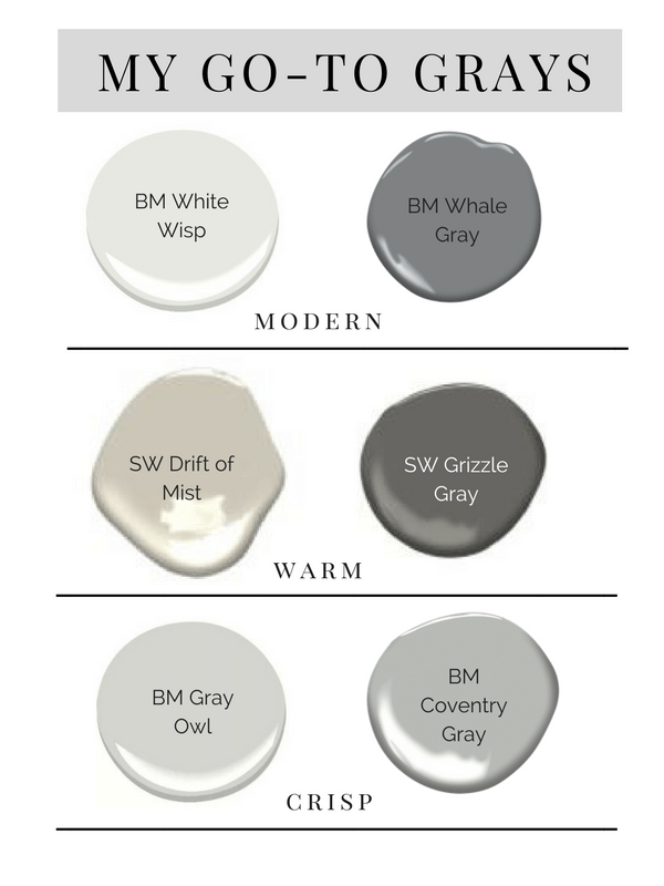 The Best Gray Paint Colors | The Mom Edit