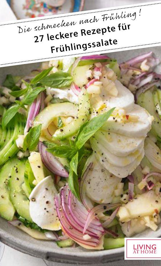 27 leckere Rezepte für Frühlingssalate
