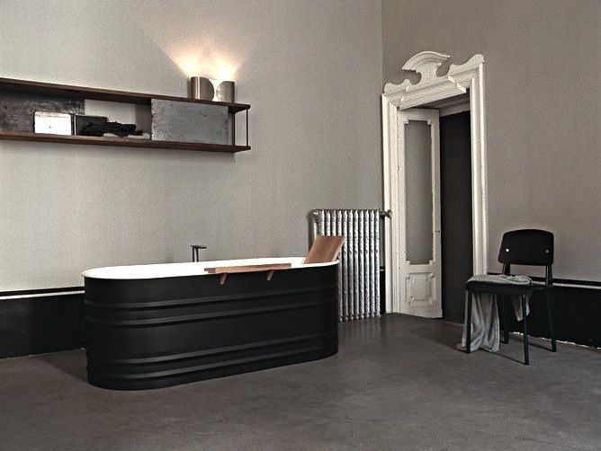 Dark Water Modern Black Bathtubs Macabre And Moody Pinterest - Bathroom ideas for guys