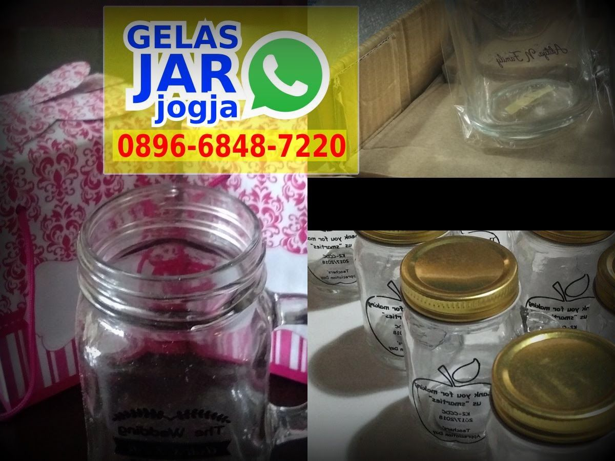 Pin Di Grosir Gelas Drinking Mason Jar